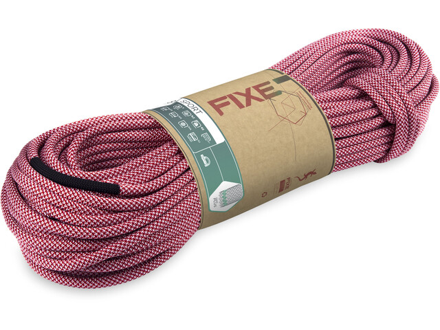 Fixe Sport Rope 9,9mm x 80m fire/white